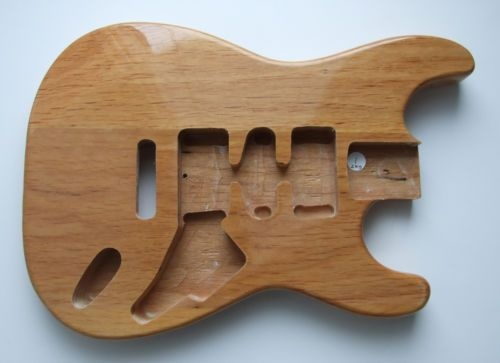 El Aliso es la madera original de las stratocasters