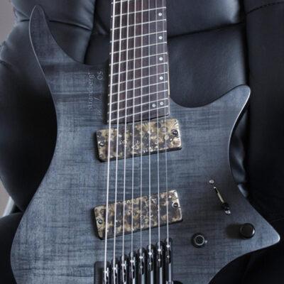 Guitarras eléctricas de 7 y 8 cuerdas