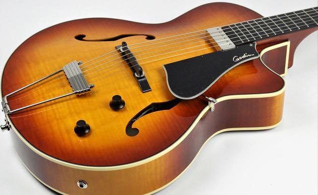 Guitarra Hollowbody o de cuerpo hueco