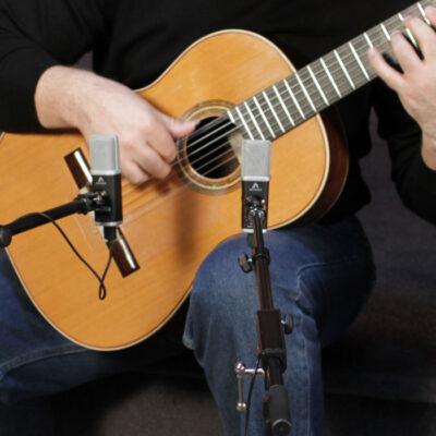 La guitarra clásica de estudio