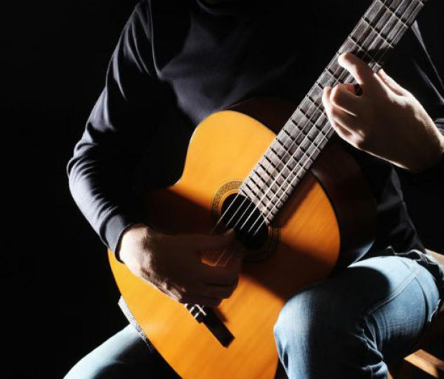 Guitarra clásica de concierto