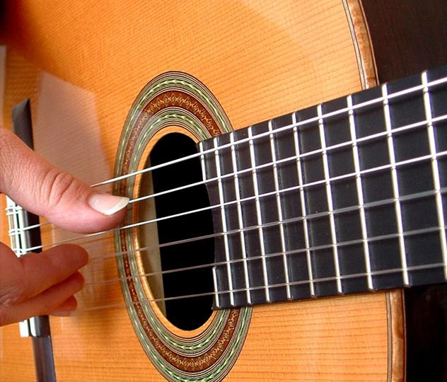 La guitarra criolla