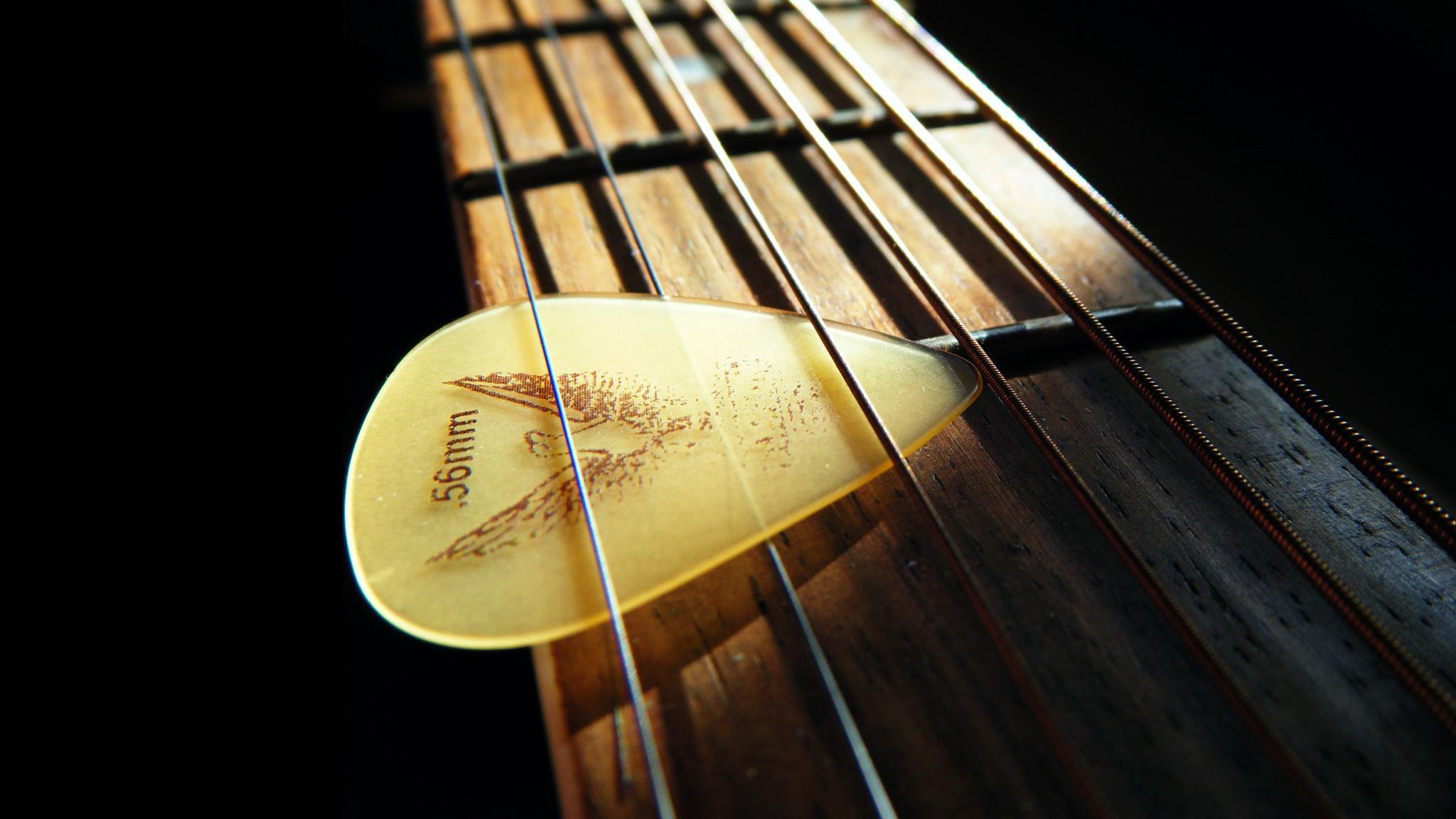 Guitarra y Pua - Fondo de pantalla