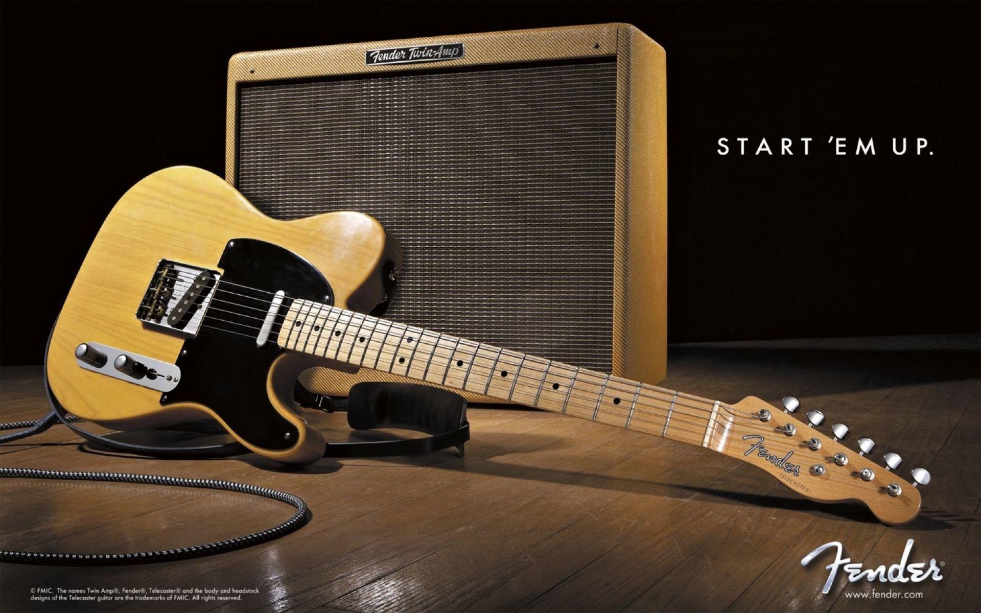 Guitarra Fender Telecaster - Fondo de pantalla